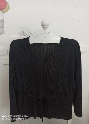 Блуза пліссе