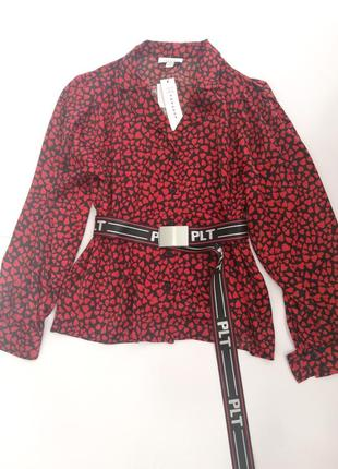 Блуза атласная