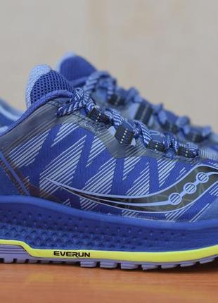 Женские синие беговые кроссовки saucony koa tr, 38 размер. оригинал