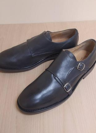 Мужские туфли кожа классика италия