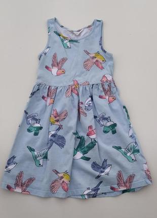 Летнее платье 5-6 лет