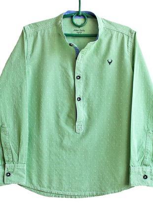 Стильная рубашка allen solly junior на мальчика 7 лет