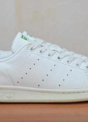Белые кожаные кеды, кроссовки adidas stan smith, 40 размер. оригинал