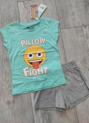 Комплект пижама emoji 116 см