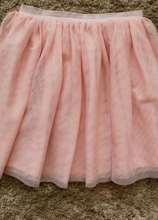 Фатинова юбка h&m (нм)  на рост 120-130