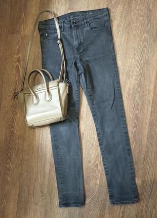 ❤️завышеные джинсы скинни