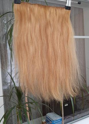 Трес волос натуральный  русый блонд👩🦰