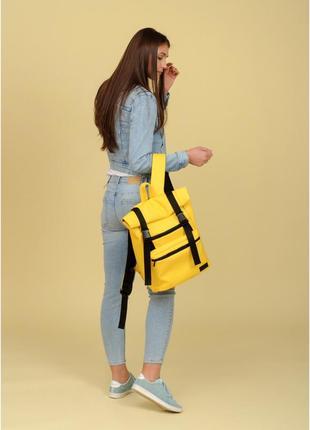 Рюкзак ролл унісекс  жовтий