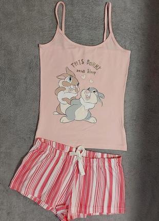 Фирменная пижамка или костюмчик для дома 6-8 размер, евро 34-36