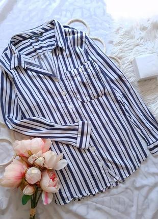 🖤 рубашка в полоску от bonmarche