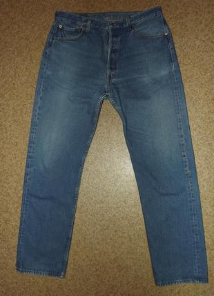 Винтажные джинсы levis 501, 1999 год