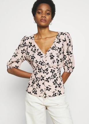 🖤 пудровая блуза от new look