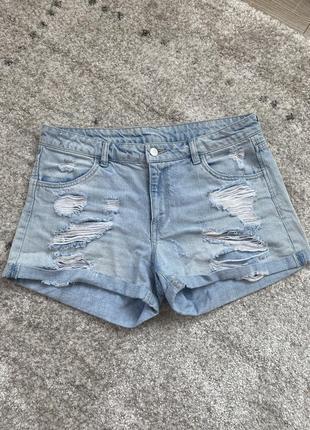 Шорти/джинс/джинсові шорти/шорты/топ/тренд/оверсайз/
