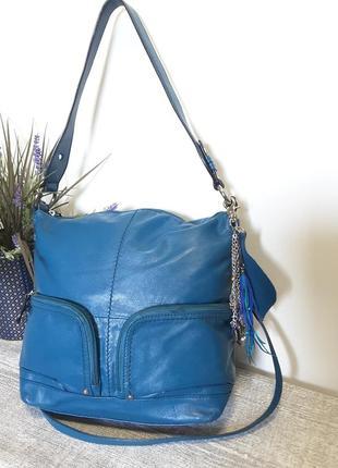 Классная сумка из  натуральной кожи