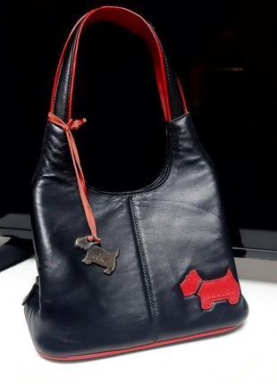 👜нереально крутая кожаная мини-сумочка radley👜
