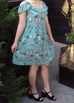 Шифоновое платье супер качества