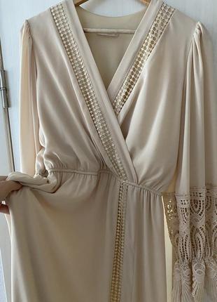 Нарядное платье для беременных, на роспись, свадьбу