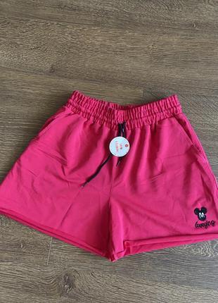 Шорты короткие спортивные широкие, летние короткие шорты, короткі широкі літні шорти