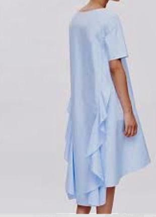 Очень классное платье с поплина
