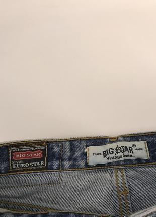 Новые женские джинсы big star, винтаж4 фото