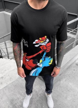 Чоловіча футболка  оверсайз знижка sale | мужская футболка скидка  оверсайз
