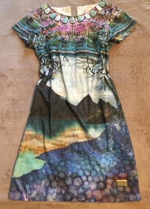 Платье с красивым узором