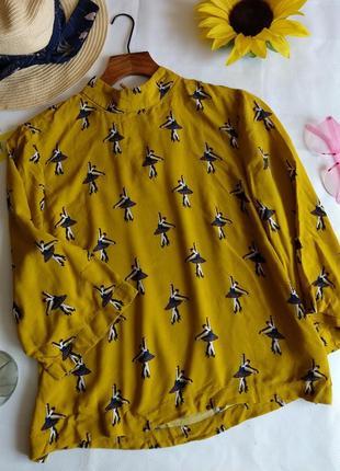 Шикарная блуза hm 36