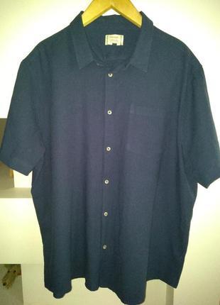 Льняная рубашка george, размер 3xl