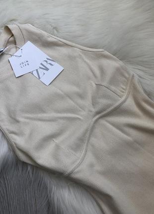 Трендовое платье с акцентным швом под грудью8 фото