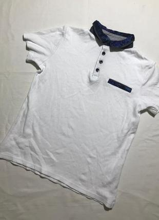 Детская футболка поло river island 5-6 лет