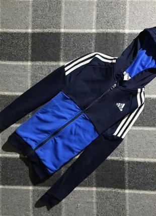 Детская кофта олимпийка adidas 11-12 лет