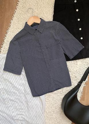 Легкая блуза на пуговицах