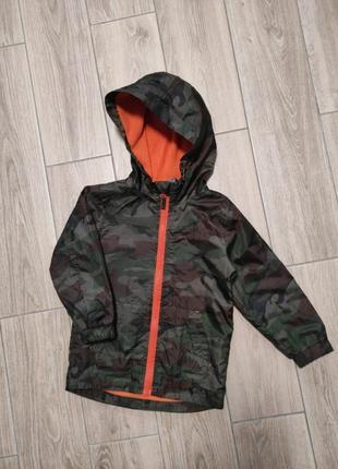 Курточка ветровка на флисе куртка камуфляж милитари1 фото