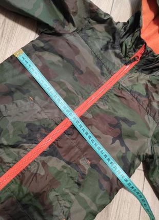 Курточка ветровка на флисе куртка камуфляж милитари4 фото