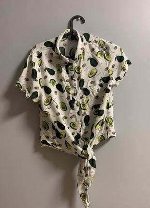 Рубашка с авокадо