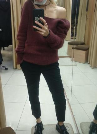Ангороаый свитер