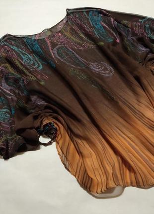 Блуза большого размера блузка прозрачная кофточка туника