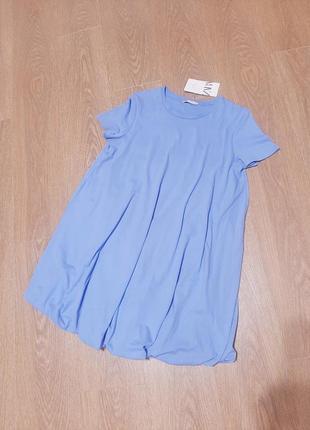 Zara платье с объемным низом