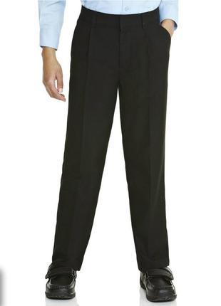 Новые школьные черные брюки f&f 10-11 лет, 140-146 см. сток, штаны, форма