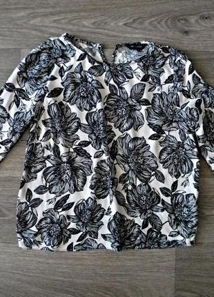 Эффектная блуза с принтом от new look
