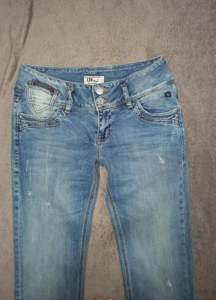 Фирменные новые женские штаны джинсы стрейчевые2 фото