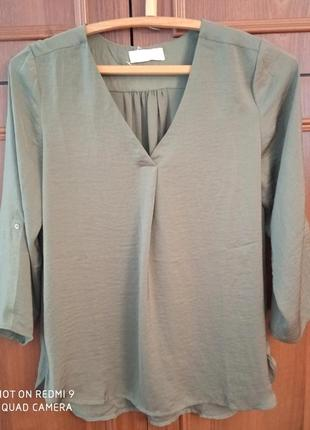 Классная шелковая женская блуза