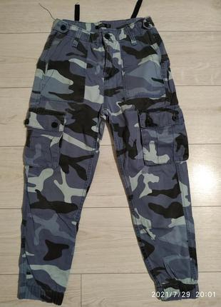 Крутые штаны с высокой талией