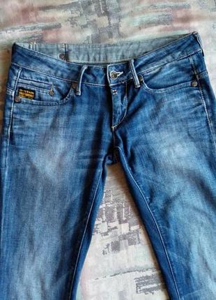 "G-star raw denim  прямые джинсы ""midge""5 фото"