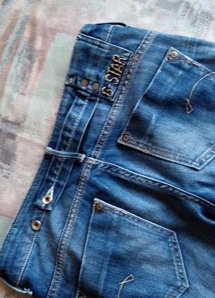 "G-star raw denim  прямые джинсы ""midge""6 фото"