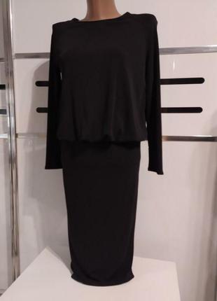 Соблазнительное платье миди zara /вечернее/ с открытой спиной