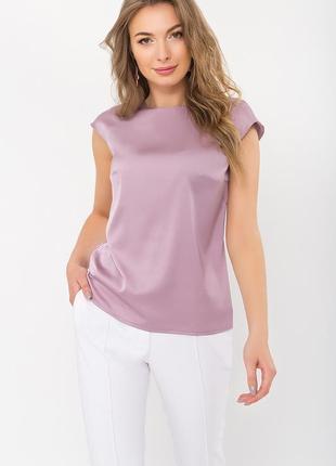 Лиловая блузка