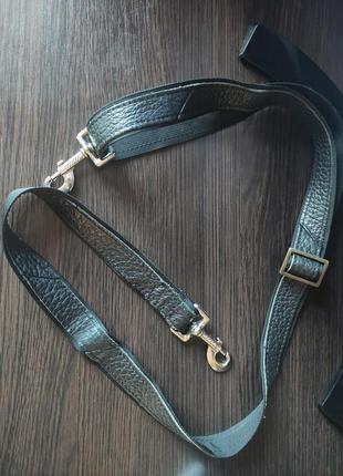 Ремень для сумки мужской кожаный пояс ручка
