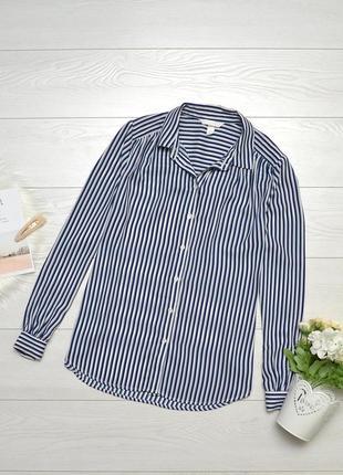 Стильна блуза в полоску h&m.