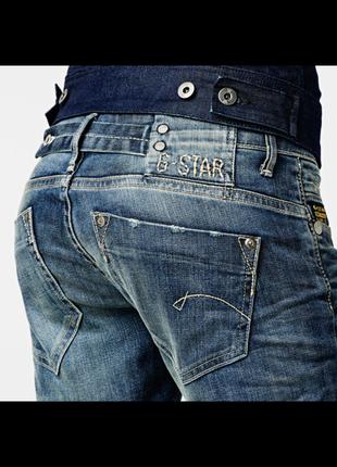 "G-star raw denim  прямые джинсы ""midge""2 фото"